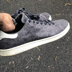 Adidas Grey suede Stan Smith!